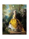 The Empress Eugénie (Eugénie De Montijo) Giclee Print by Franz Winterhalter