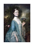 Sarah, Lady Innes Giclee-trykk av Gainsborough, Thomas