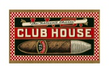 Ad for Club House Cigar Giclee Print