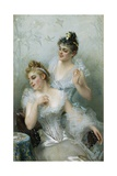 Lucky in Love by Vittorio Matteo Corcos Giclee Print by Vittorio Matteo Corcos