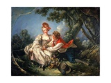 The Four Seasons: Autumn Giclee Print by François Boucher