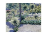 The Garden of the Hotel St. Antoine, Brasschart Giclee Print by Francis Nys