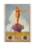 Societe Des Amis Des Arts D'Angers Exposition Poster Giclee Print by E. Henry Karcher