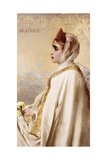 Beatrice by Vittorio Matteo Corcos Giclee Print by Vittorio Matteo Corcos
