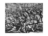 Siege of Constantinople, 1453 Giclee Print by Matthaeus Merian