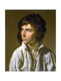 Portrait of a Young Boy Giclée-tryk af Anne-Louis Girodet de Roussy-Trioson