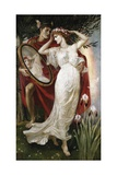 Art and Life Giclee Print by Walter Crane