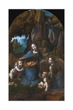 Virgin of the Rocks Giclee Print by  Leonardo da Vinci