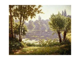 Tranquil Waters Giclee Print by Henri Biva