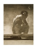 Seated Giant Giclee Print by Francisco de Goya