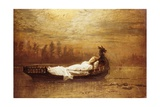 The Lady of Shalott Giclee Print by John Atkinson Grimshaw