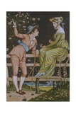 Come Be My Love Giclee Print by Walter Crane