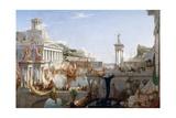 The Course of Empire - Consummation Giclée-trykk av Thomas Cole