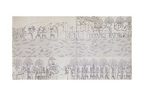 Book Illustration Showing Siege of City on River Banks at Kouyunjik Giclee Print