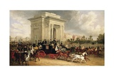 Hyde Park Corner, London Giclee Print by James Pollard