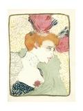 Mlle. Marcelle Lender En Buste Lámina giclée por Henri de Toulouse-Lautrec