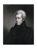 Andrew Jackson Giclee Print by James Barton Longacre