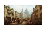 The Belle Savage Inn, Ludgate Hill, London Giclee Print by John Charles Maggs