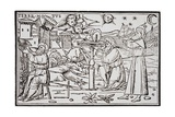 Print of Arabian Astrologers Examining the Sky from in Somnium Scipionis Giclee Print by Ambrosius Macrobius