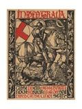 In Deo Gratia World War I Poster Giclée-tryk af Fritz Boehle