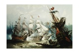 The Battle of Trafalgar Giclee Print by John Callow