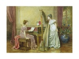 The Rehearsal Giclee Print by George Goodwin Kilburne
