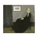 Arrangement in Grey and Black No. 1 Giclee Print by James Abbott McNeill Whistler