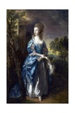 The Hon. Frances Duncombe Giclee Print by Thomas Gainsborough