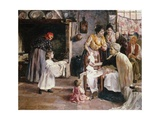 Preparing for the Baptism Giclee Print by Egisto Lancerotto