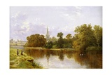 Stratford on Avon from the River Giclee Print by Arthur Bevan Collier