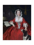 Miss Mary Edwards Giclee Print by William Hogarth
