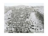 Timbuktu Engraving Giclee Print