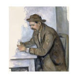 Le Joueur De Cartes (The Cardplayer) Giclee Print by Paul Cézanne