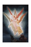 Lancelot's Vision of the Holy Grail Giclee Print by Frederick Hamilton Jackson