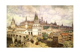 Prosperity of Kremlin Giclee Print by Apollinary Vasnetsov