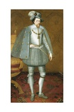 The Sutherland Portrait of James Vi of Scotland Giclee Print by John De Critz