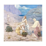 The Shepherd's Song Giclee Print by Pierre Puvis de Chavannes