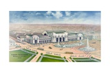 Bird's-Eye View of Union Station Giclee Print