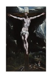 Christ on the Cross Lámina giclée por  El Greco