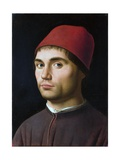 Portrait of a Man Giclee Print by Antonello da Messina