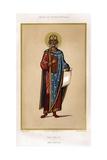 Book Illustration of King Solomon Giclee Print
