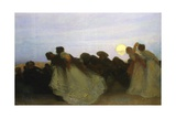 The Moondance Giclee Print by George Murray I