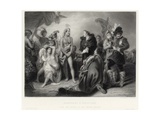 Spaniards and Peruvians Giclee Print by William Greatbach