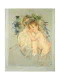 A Study for 'Le Dos Nu' Giclee Print by Mary Cassatt