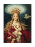 The Virgin as Queen of Heaven Giclee Print by Hans Baldung Grien