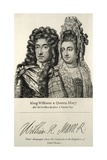 King William and Queen Mary Engraving Giclee Print