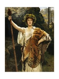 A Priestess of Bacchus Giclee Print by John Collier
