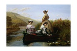 The Elegant Boating Giclee Print by Walter Field