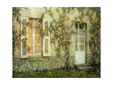 The House of Roses Gicléetryck av Henri Le Sidaner