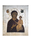 Our Lady of the Wayfarers (Odigitria or Hodegetria) Giclee Print by  Dionisius